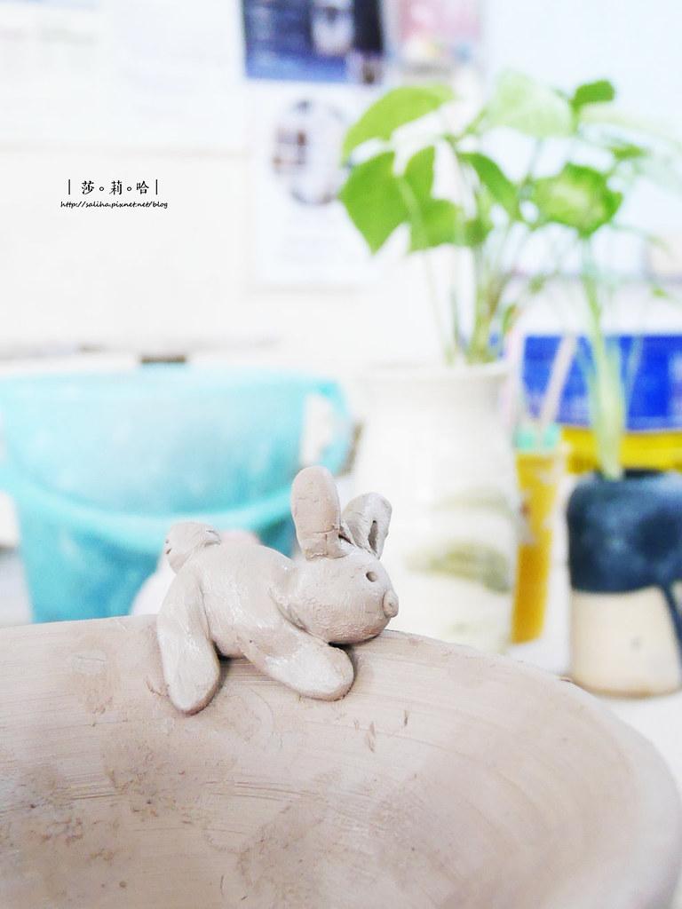 鶯歌老街手拉坯DIY價格價錢茶壺上色燒製親子玩樂推薦 (4)