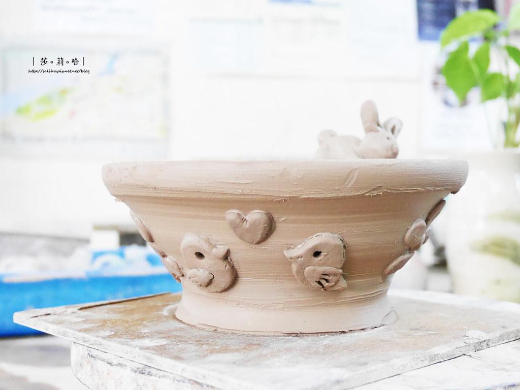 鶯歌老街手拉坯DIY價格價錢茶壺上色燒製親子玩樂推薦 (3)