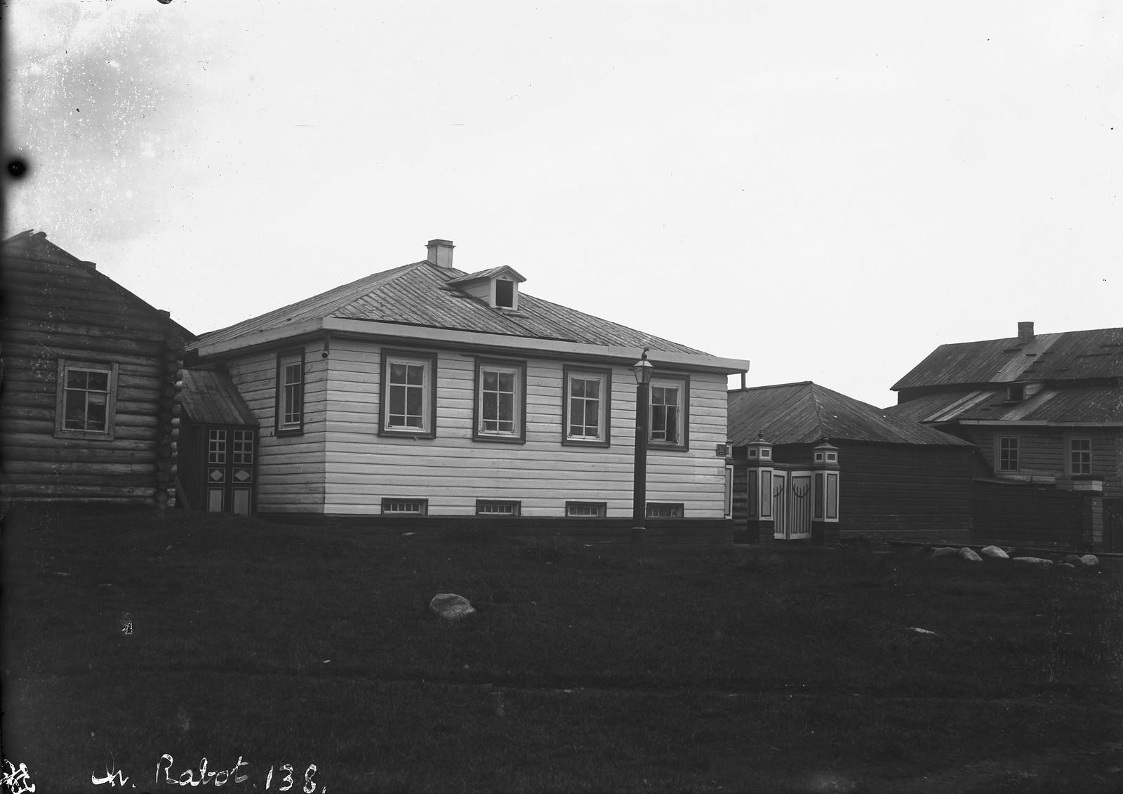 1884. Кола. Дом семьи Жеребцовых