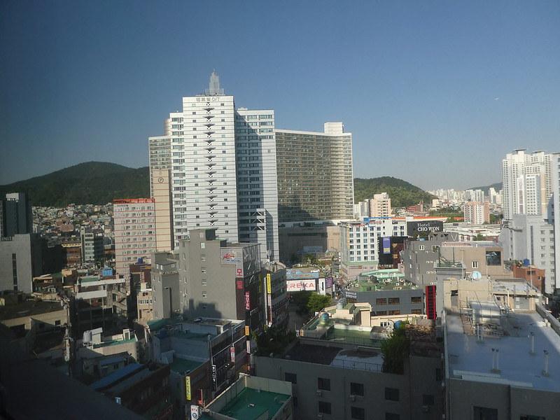 Bedroom view, Arban Hotel. Busan, South Korea
