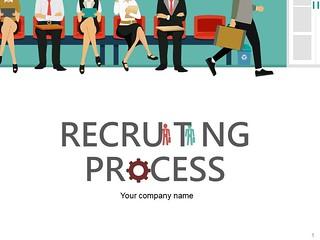 Recruiting Process PowerPoint Presentation Slides