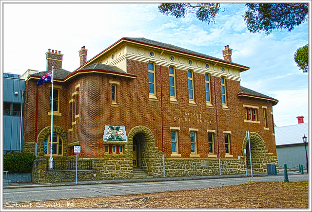 Albany Courthouse, Stirling Terrace, Albany, Western Australia