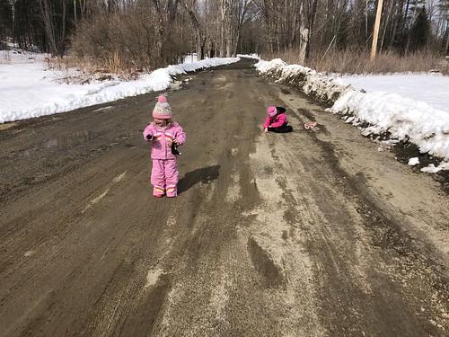mud and snow