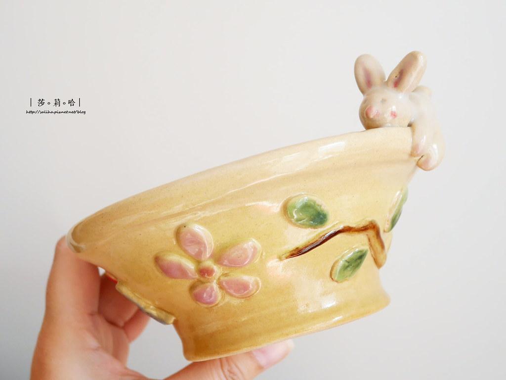 鶯歌老街手拉坯DIY價格價錢茶壺上色燒製親子玩樂推薦 (7)