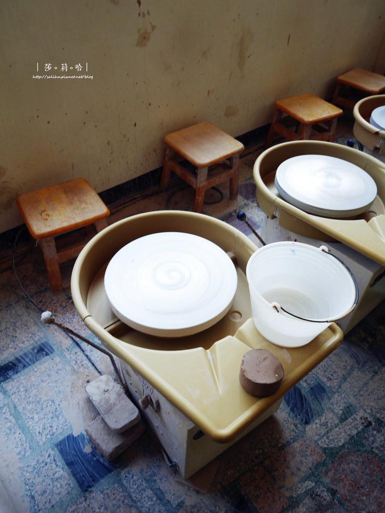鶯歌老街一日遊景點豐陶藝坊好玩手拉坯店家推薦 (5)