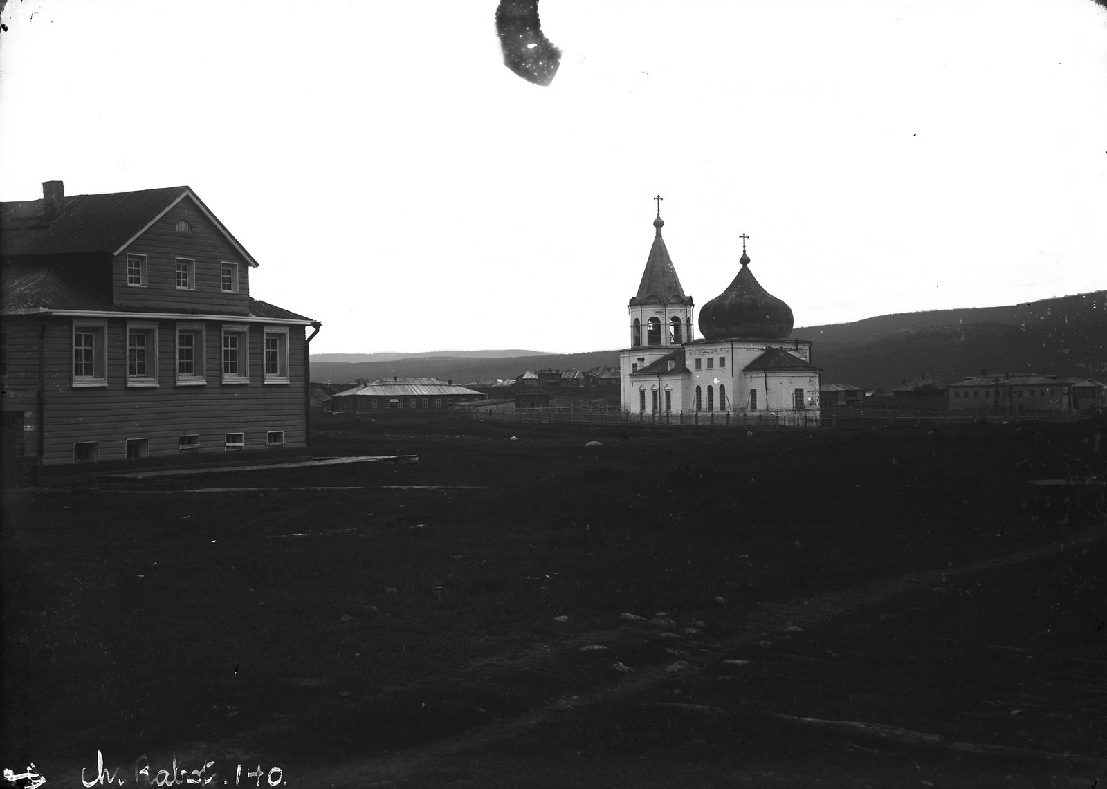 1884. Кола. Благовещенская церковь