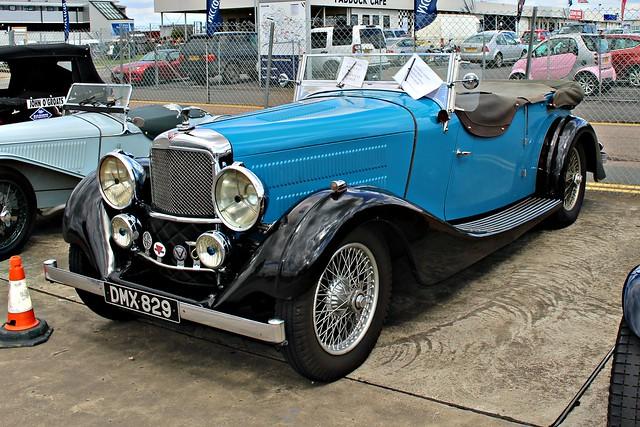 289 Alvis 4.3 litre Vanden Plas Tourer (1936)