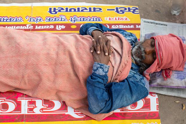 Nap Time, Varanasi