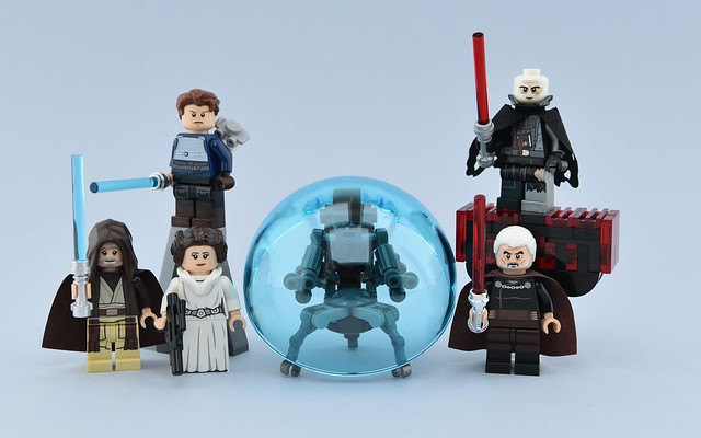 Movies minifigs #12 : Jedis and Siths