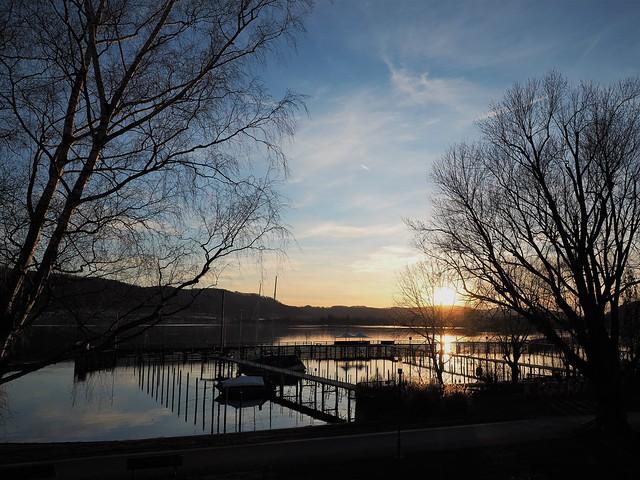 Abendstimmung - Evening atmosphere at Lake Constance