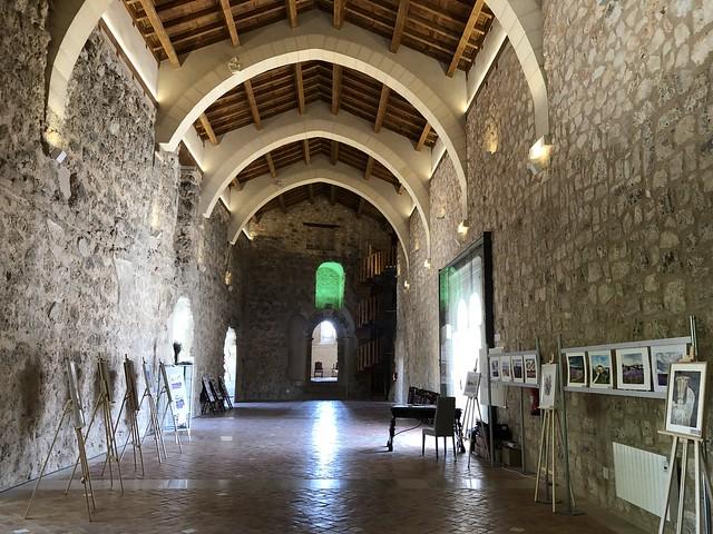 Salón de audiencias del castillo de Peña Bermeja (Brihuega, Guadalajara)