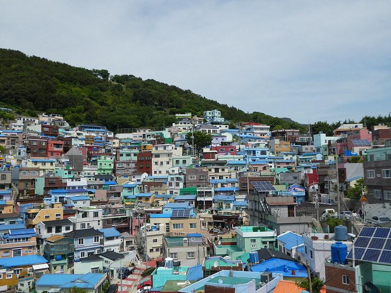 Gamcheon Cultural Village,, Busan, South Korea