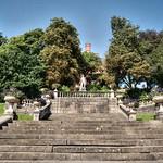 Victoria steps at Miller Park, Preston