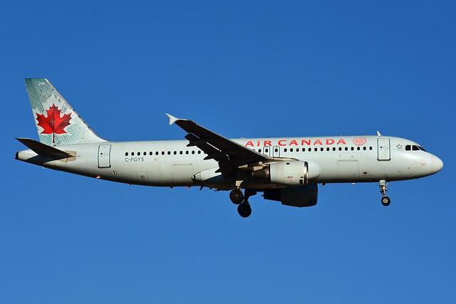C-FGYS (Air Canada)