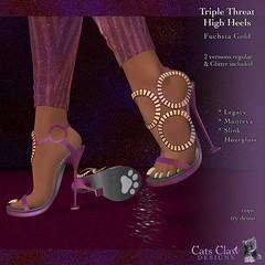 _CCD_ Triple Threat Heels Fuchsia Gold-AD