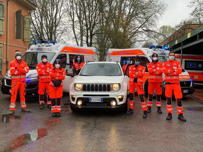 COVID 19 - 130 vetture della flotta Leasys per aiutare i volontari Anpas a contrastare l'emergenza