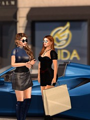 Shopping at Faida