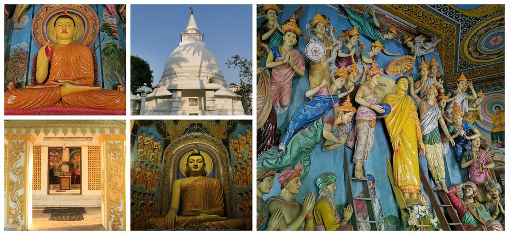 Asokaramaya Buddhist Temple, Havelock Town, Colombo