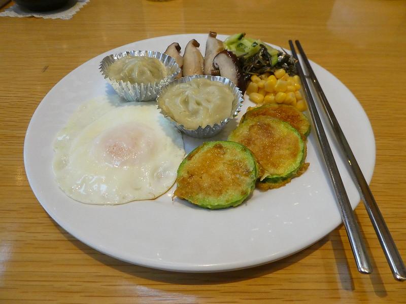 Breakfast at the Arban Hotel, Busan, South Korea