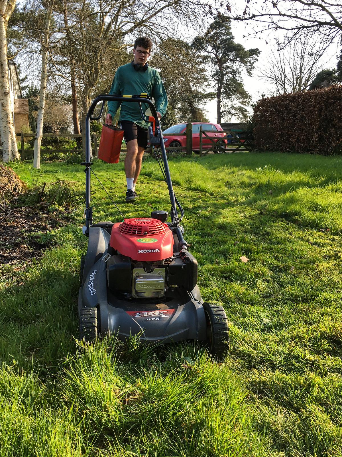 Cutting Doug's Lawn