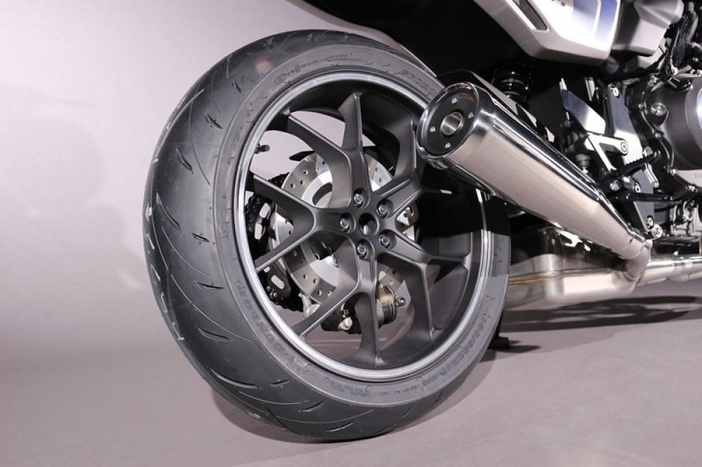 Honda CB-F Concept Swing Arm