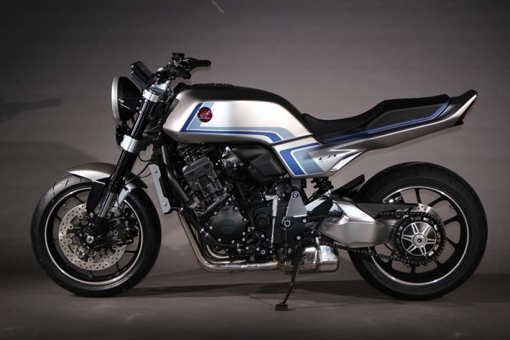 Honda CB-F Concept Left Side