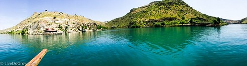 Along the banks of the Euphrates to the nearby fortified town of Halfeti. From A Hidden Gem in Southeastern Turkey: Visit Şanlıurfa