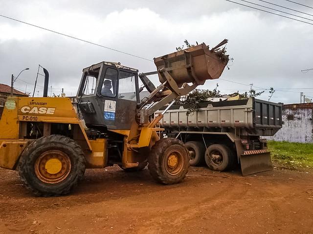 GDF Presente recolhe 700 toneladas de entulho em Ceilândia em 5 dias