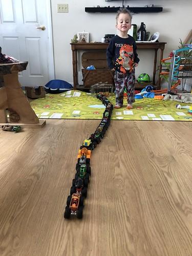monster truck train