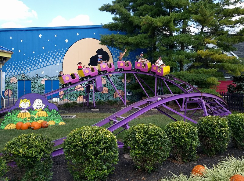 Kings Island - The Great Pumpkin Coaster