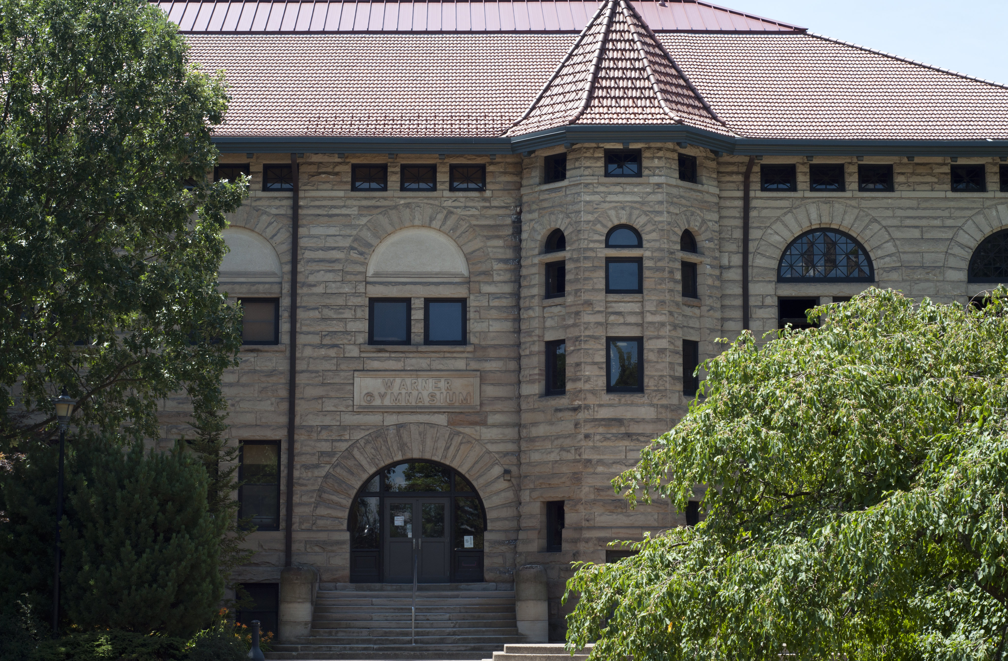 Originally built as a gymnasium in 1901, Warner Center is home to Oberlin's theater and dance programs.