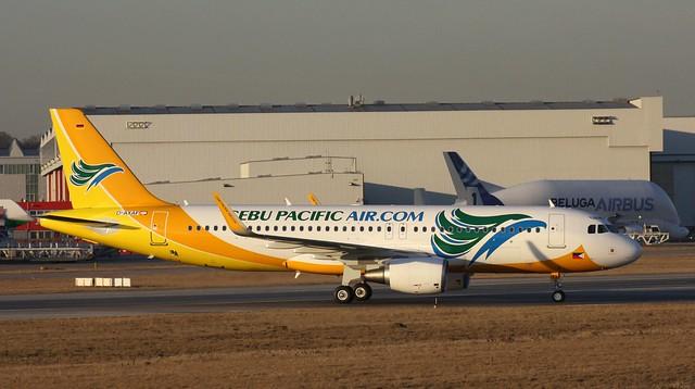Cebu Pacific Airlines, RP-C3273, MSN 5498, Airbus A 320-214SL, 05.03.2013, XFW-EDHI, Hamburg Finkenwerder