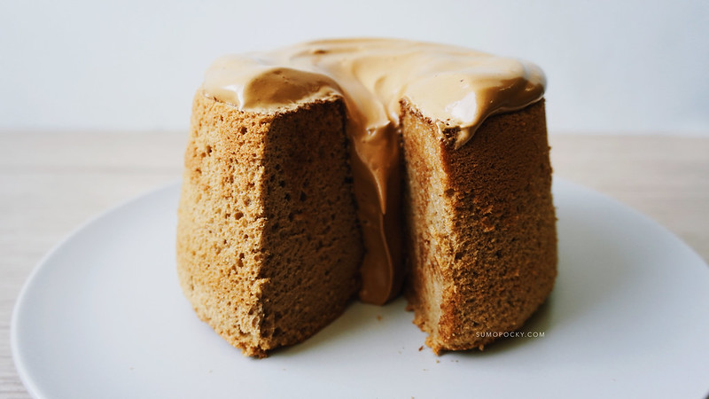 Dalgona Coffee Chiffon Cake Recipe