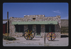 Apache Canyon Trading Post, stone building, Routes 62 & 180, Whites City, New Mexico (LOC)