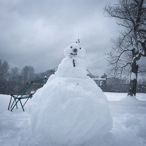 the biggest snowman ever!