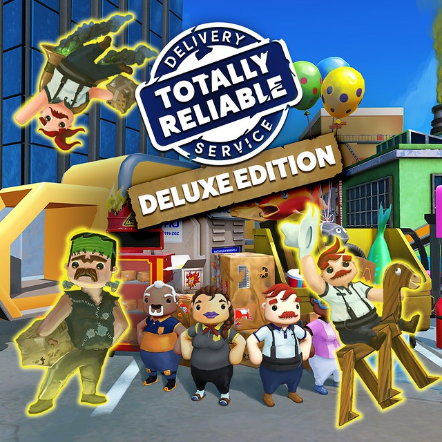 Thumbnail of Totally Reliable Delivery Service Deluxe Edition on PS4