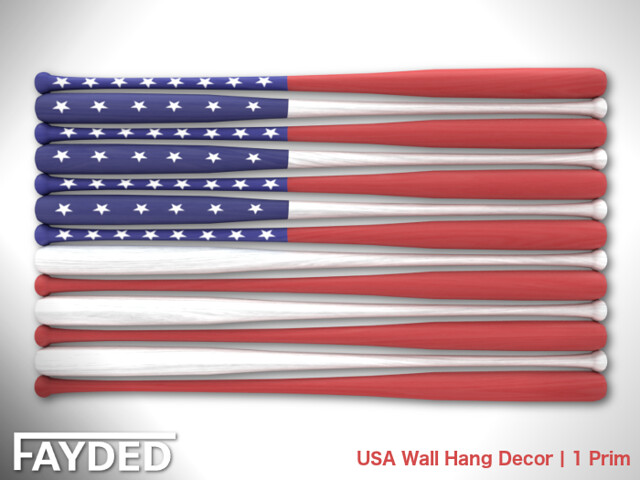FAYDED – USA Wall Hang