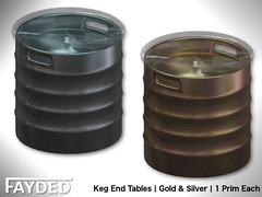 FAYDED - Keg End Tables