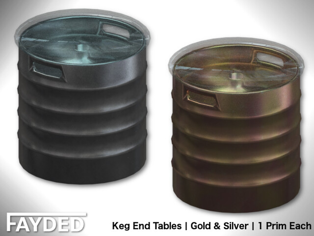 FAYDED – Keg End Tables