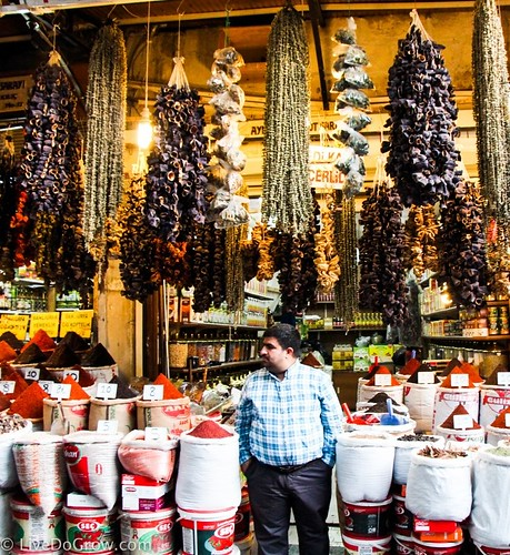 Spices at the Grand Bazaar. A Hidden Gem in Southeastern Turkey: Visit Şanlıurfa