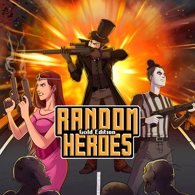 Thumbnail of Random Heroes: Gold Edition on PS4
