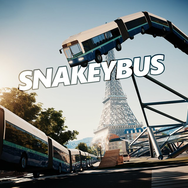 Thumbnail of Snakeybus on PS4