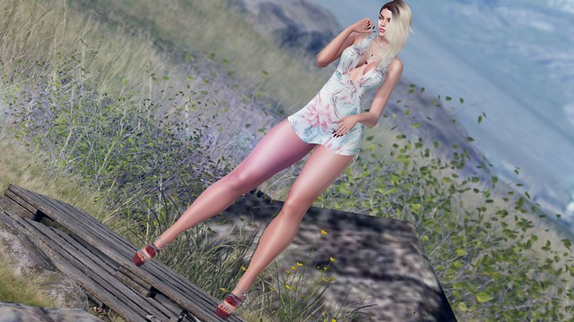 My Korner #233 - Watching the ocean kiss the shore!