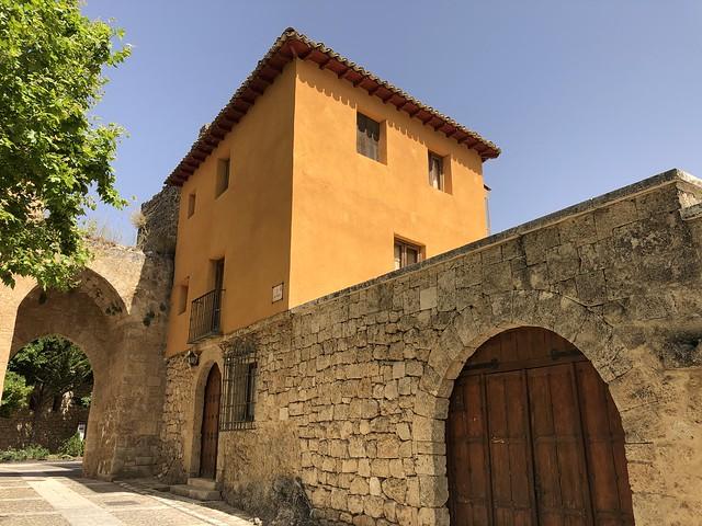 Casa de los gramáticos, que fuera la última residencia de Manu Leguineche en Brihuega