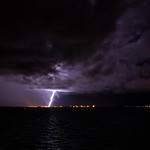 6. Märts 2020 - 14:49 - Lightning, seen from Stokes Hill Wharf, Darwin, Northern Territory, Australia
