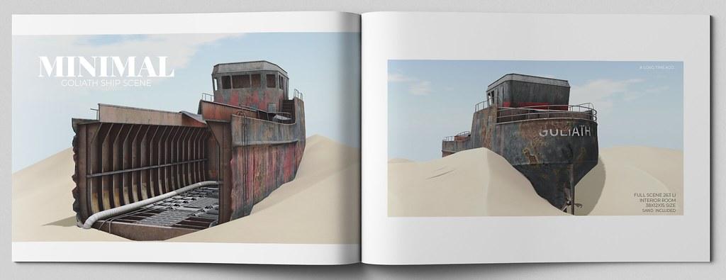 MINIMAL – Goliath Ship Scene