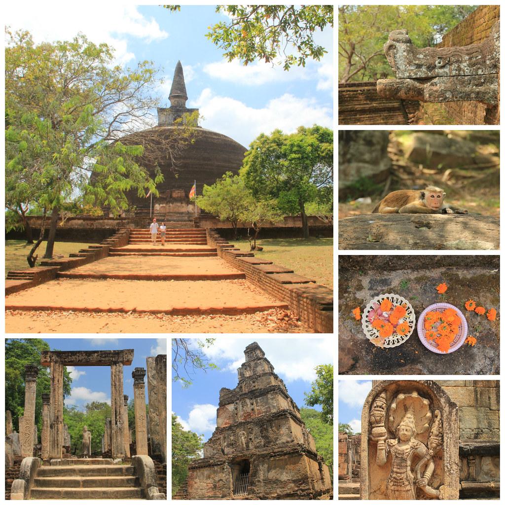 Ancient city of Polonnaruwa, Sri Lanka