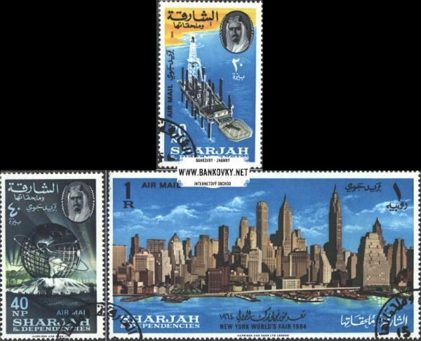 Známky Sharjah 1964 Svetová výstava