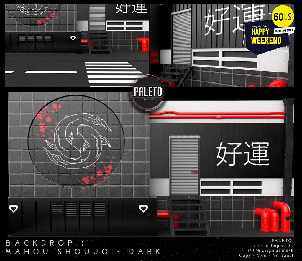 .PALETO.Backdrop:. Mahou Shoujo - Dark