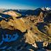 Summit view from Piz Languard (3261 m)